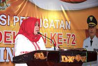 Tutup Festival Tanjung Langgudu, Dinda Minta OPD Beri Perhatian Pada Daerah Terpencil