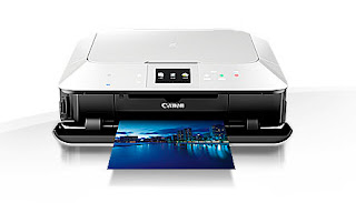 Canon PIXMA MG7150 Premium 6-ink All-in-One with touch control, cloud and mobile printing, Costs 6-ink Photo All-in-One for specialist outcomes at home. Fashionable and easy to use with intuitive touch control, it provides advanced connection for printing from smart tools and directly from cloud.