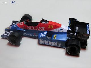 Osella FA1F Alfa - Jo Gartner - Italian GP 1984 Rado Radevicz
