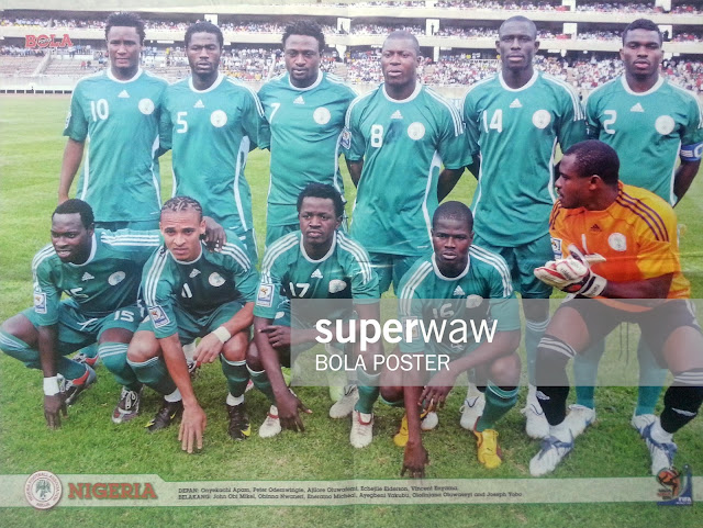 NIGERIA TEAM SQUAD WORLD CUP 2010