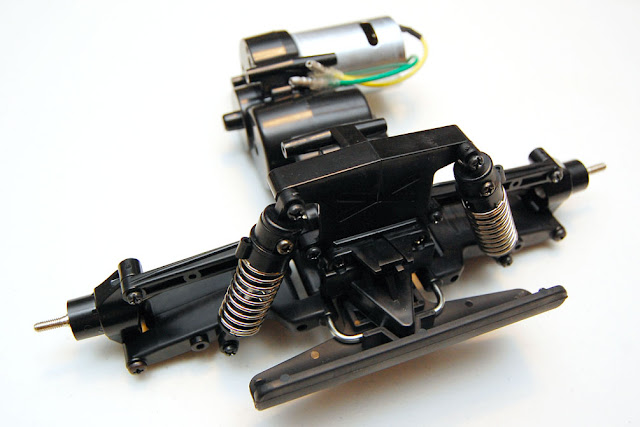 Tamiya Blackfoot rear suspension