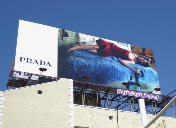 Prada FW 2017 billboard