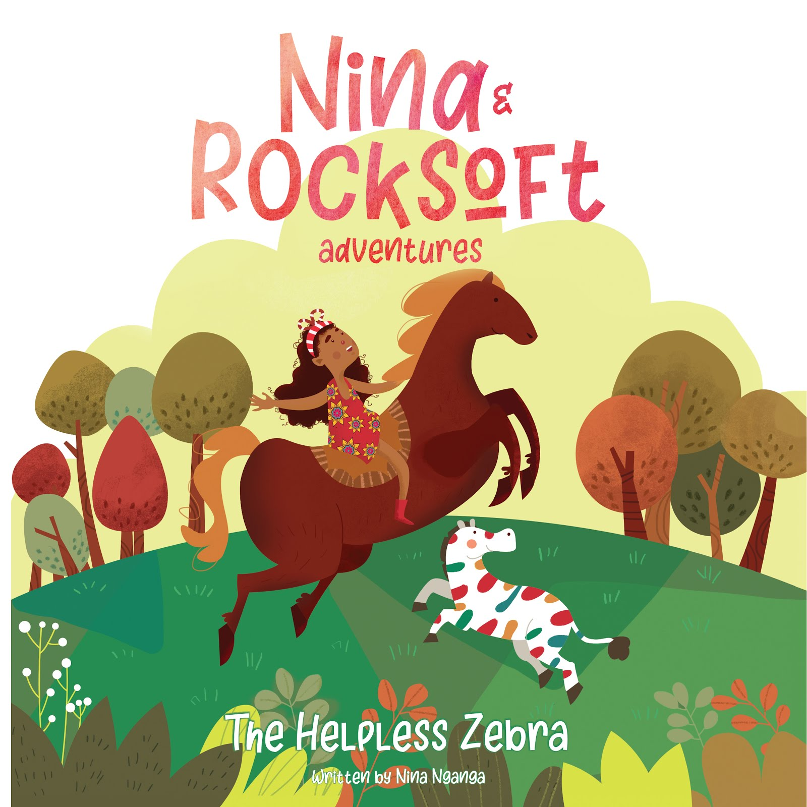 Nina and Rocksoft Adventures: The Helpless Zebra