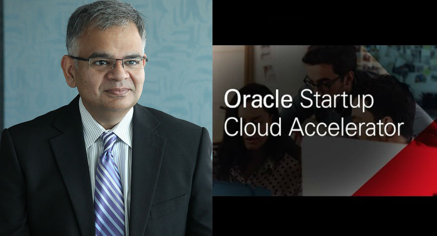 Atal Sanket Vice president of Oracle on Oracle Startup Cloud Accelerator
