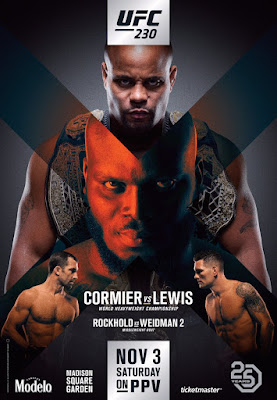 UFC 230 Cormier Vs Lewis 2018 Custom HD Latino