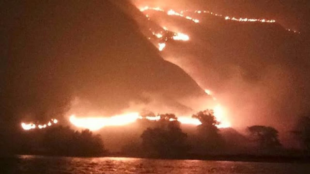 Kebakaran Terjadi di Gili Lawa Darat karena Ulah Tim Foto Prewedding