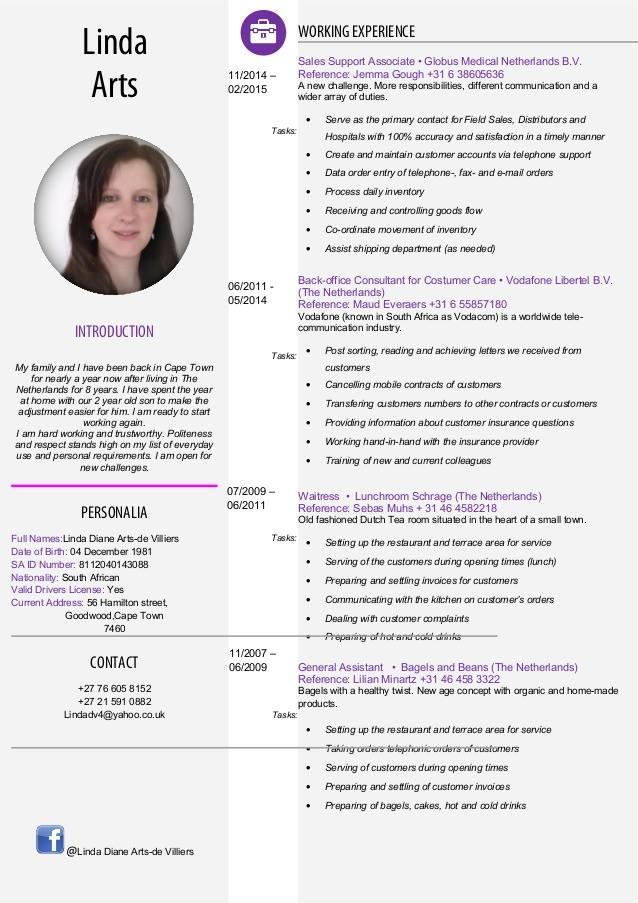 Contoh Template Resume Yang Kemas dan Menarik