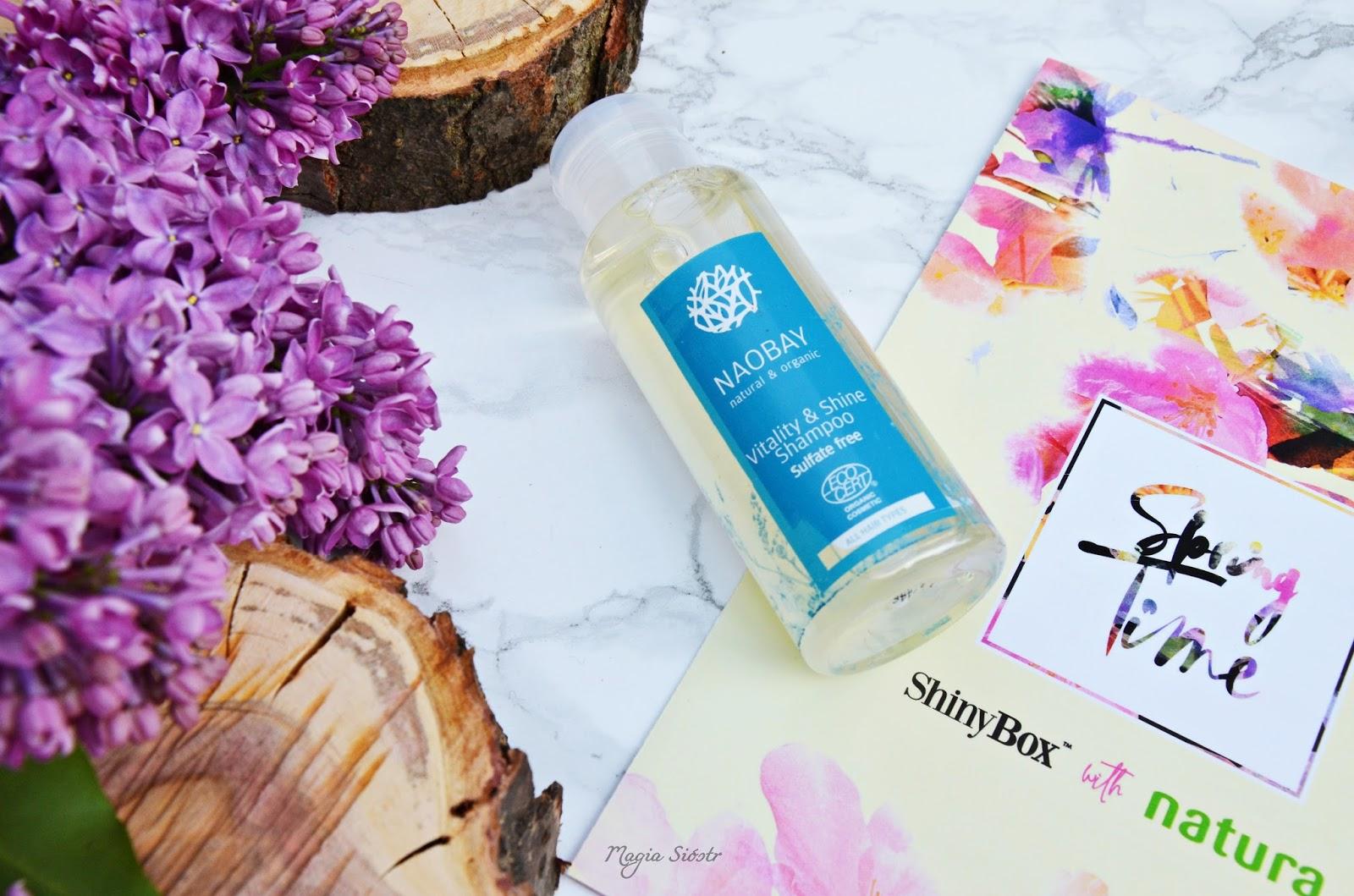 Szampon do włosów, naobay, organiczy szampon, wegański szampon.