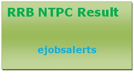 RRB NTPC Result 2017