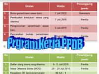 Program Kerja PPDB 2017