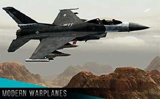 لعبة الطائرات الحربية الحديثة