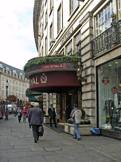 The Café Royal in London's Regent Street was acquired by Charles Forte in the 1950s