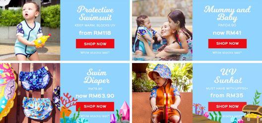mycybersale, jualan online terbesar, mycybersale di malaysia, jualan murah, harga menarik, diskaun hebat, cheekaaboo swim suit for kids, pakaian renang kanak-kanak