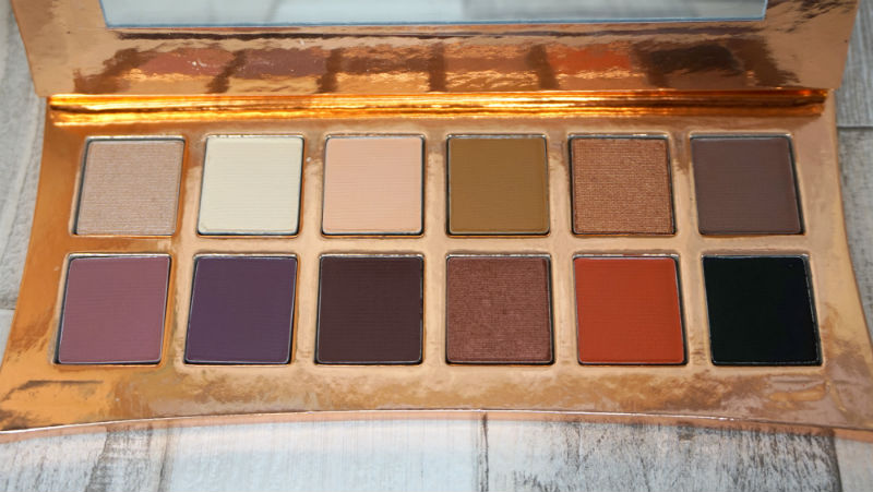beauty, illamasqua, vanitas, rose gold, palette, eyeshadows, review, gypsyflower,