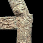 'Exceptionally rare' crucifix found by metal detectorist in England