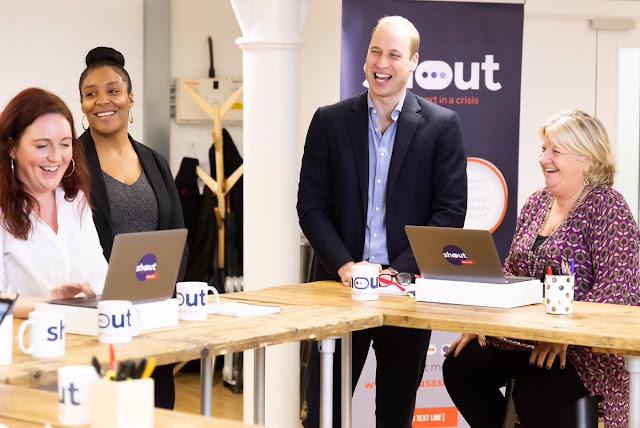 Nowa kampania społeczna Kate, Williama, Harry'ego i Meghan - Shout UK