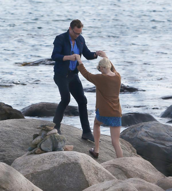 Taylor Swift seen kissing Tom Hiddleston two weeks after dumping Calvin Harris