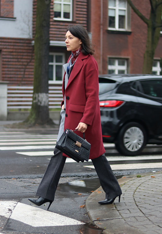 burgundy coat blog
