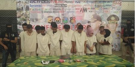 Oknum Polisi Diamankan Sat Res Narkoba Polresta Banda Aceh