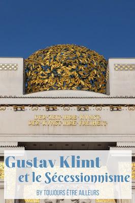 L'art nouveau à Vienne : Gustav Klimt et le palais de la Sécession, le Belvédère, le Leopold Museum, l'Ankeruhr et tous les incontournables. #Autriche #Vienna #Wien #Jugendstil
