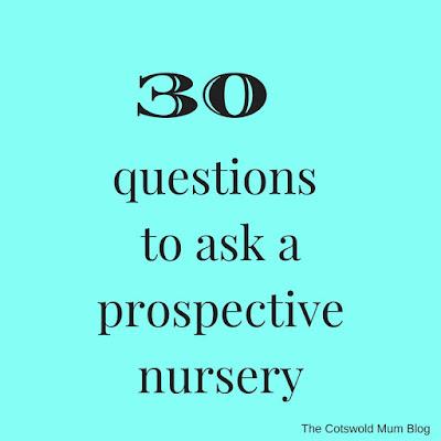 Nursery questions