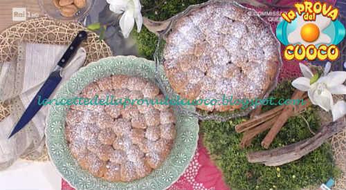 Prova del cuoco - Ingredienti e procedimento della ricetta Torta doppia sorpresa di Natalia Cattelani