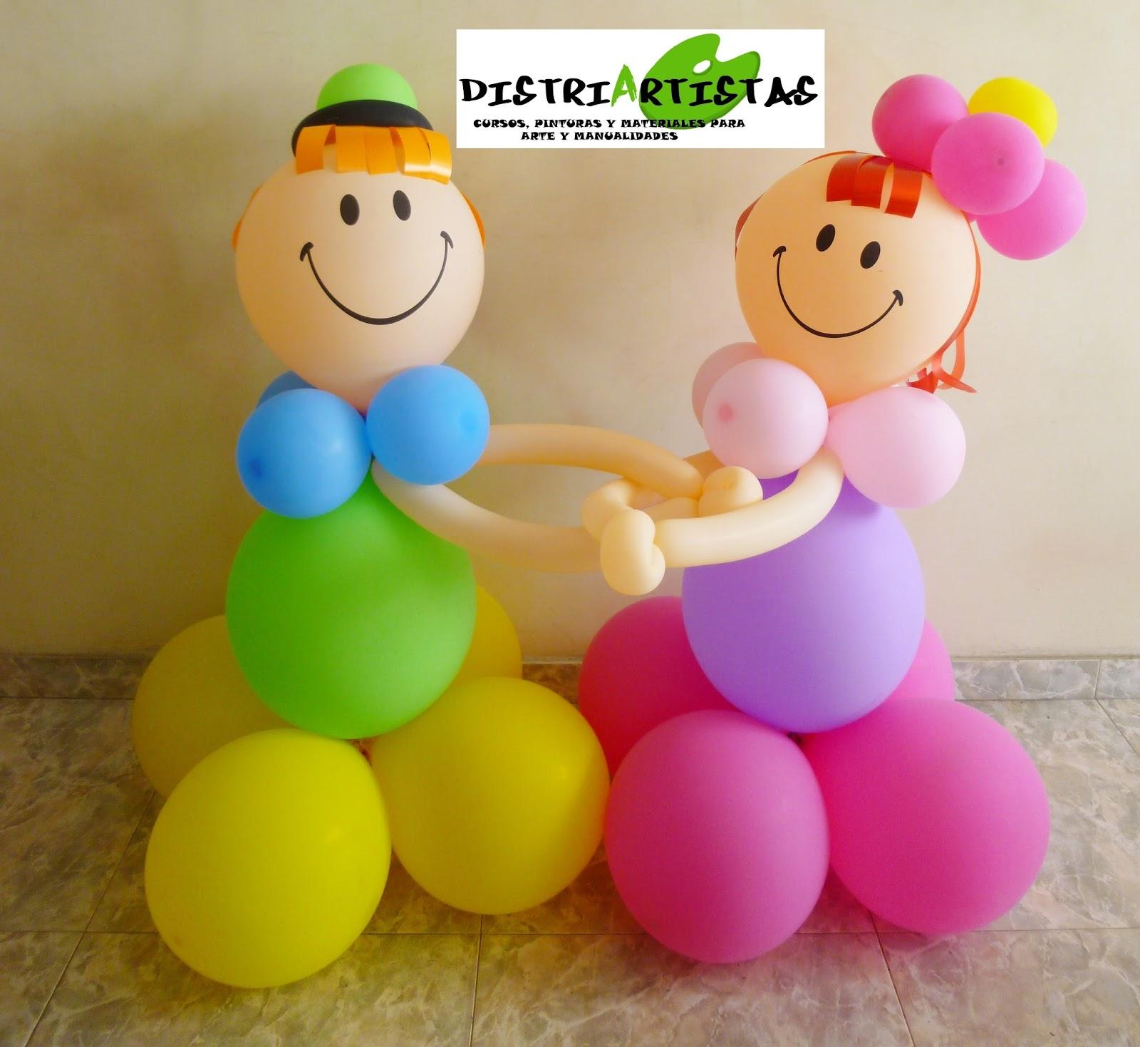 Distriartistas curso de decoracion con globos en bucaramanga for Decoracion de globos