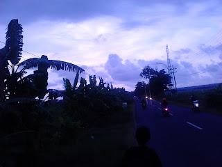 Jalan kaki dari kampus