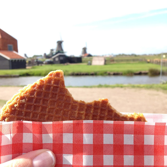 Stroopwafels - delicious view of Holland. For more tips and tricks to travel with babies and young children follow along @awayweego