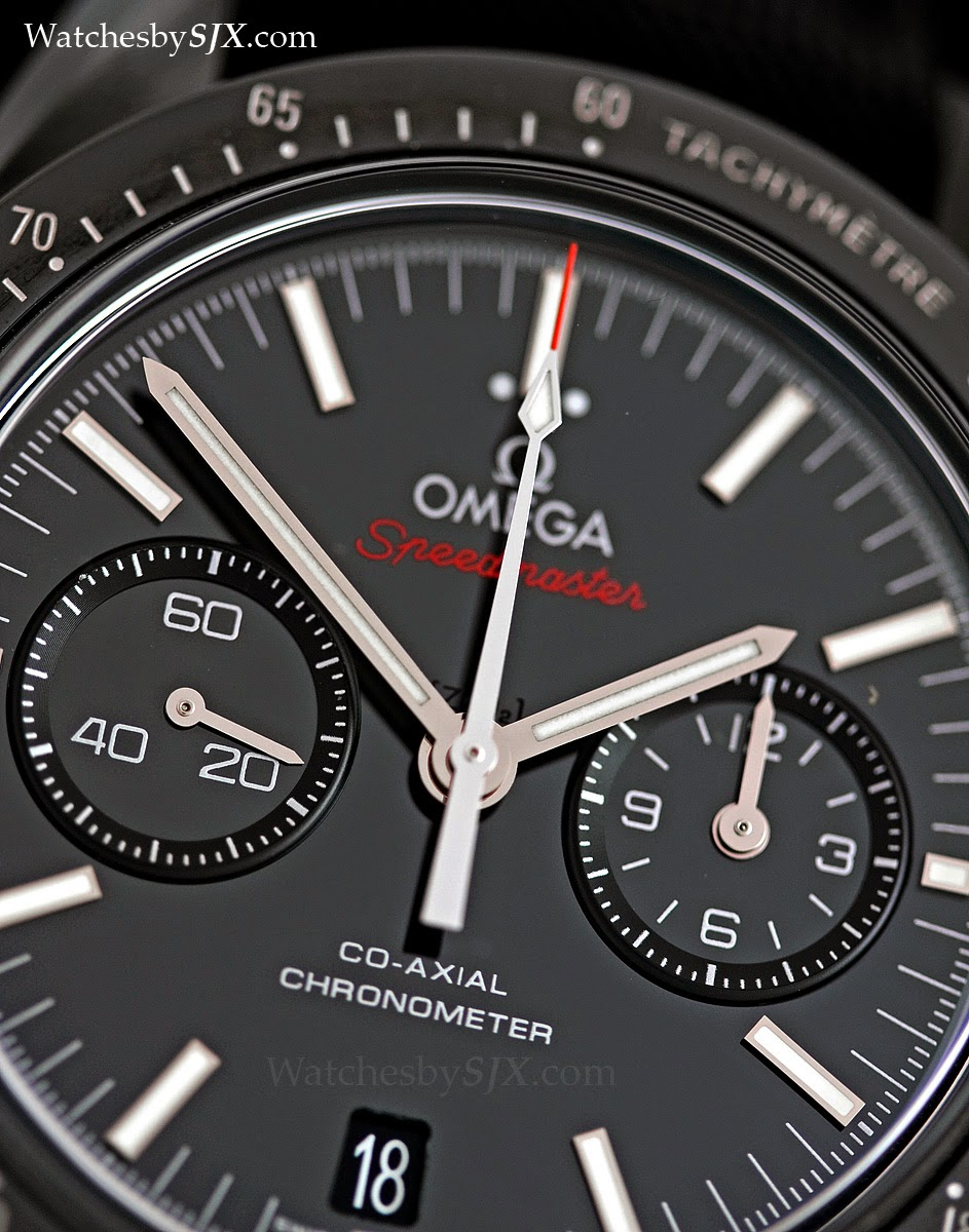 Watches By Sjx Hands On With The Omega Speedmaster Quot Dark