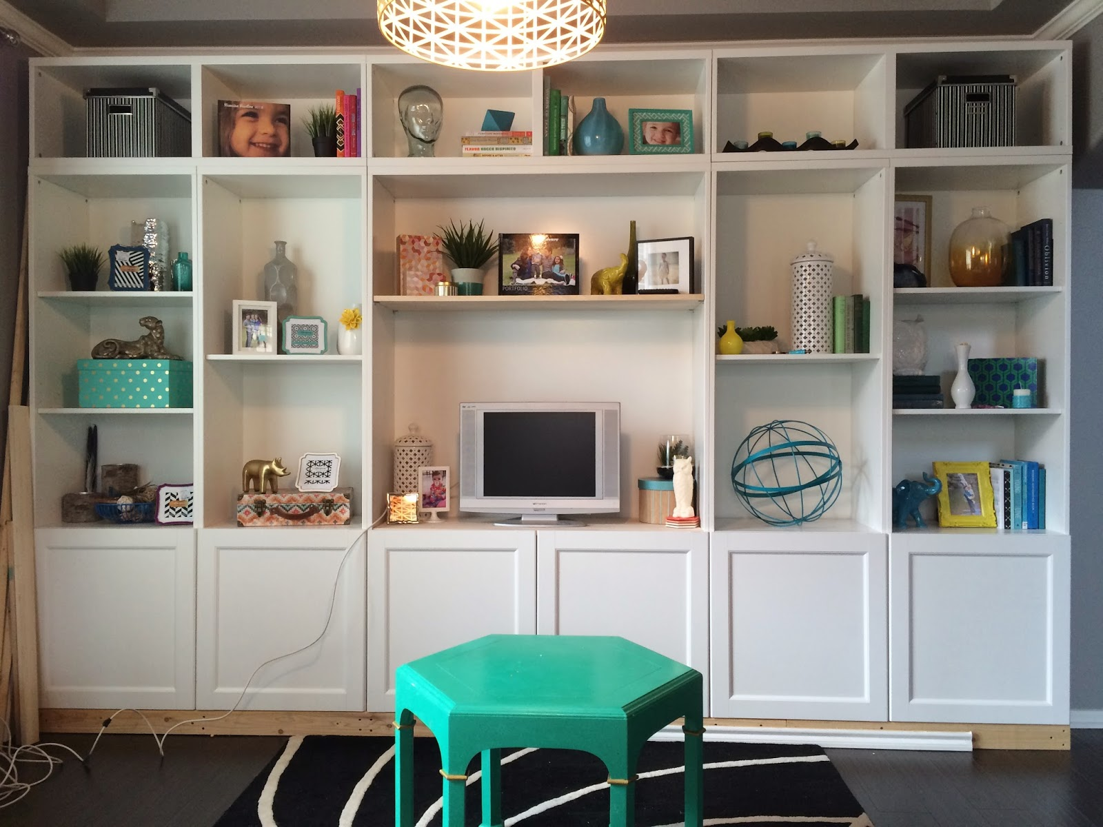 Build It - IKEA Besta Built-In Hack - A Kailo Chic Life