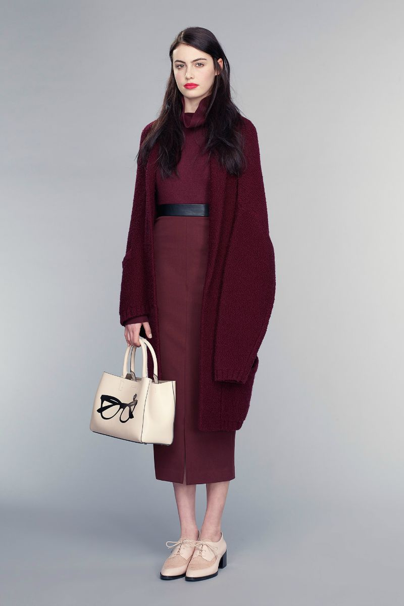 banana republic fall 2015 ootd outfit cardigan and dress