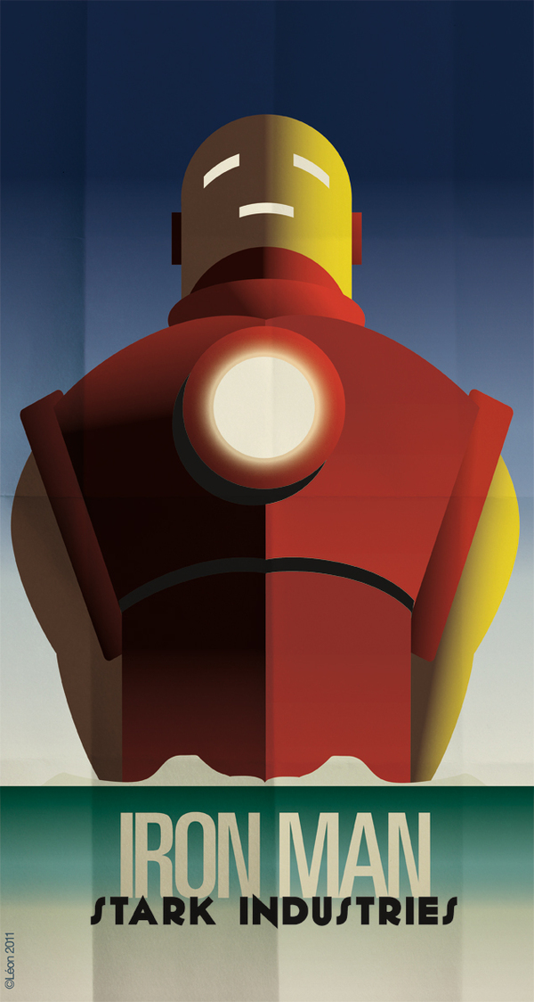 Stark Industries Art Deco