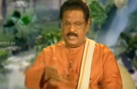 Suki Sivam talks about religions