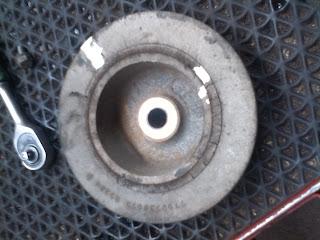 Шкив привода дополнительного оборудования