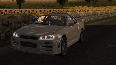NIssan Skyline GTR r34 Reworked