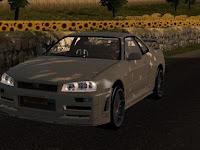 NIssan Skyline GTR r34 Reworked