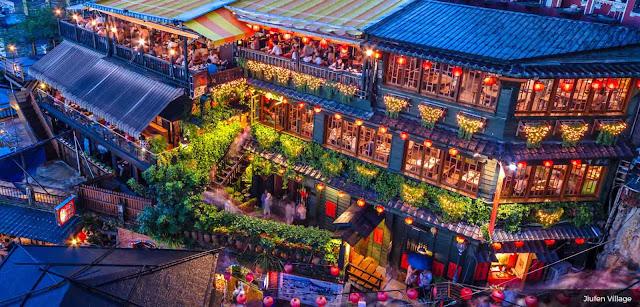 Jiufen ngôi làng du lịch Đài Loan