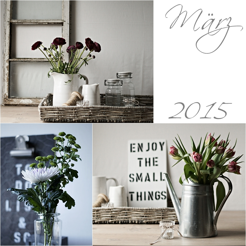 Blog + Fotografie by it's me! - Collage Friday Flowerday - März 2015
