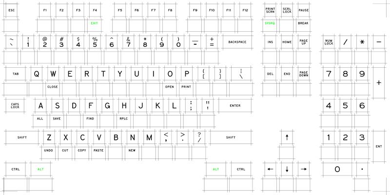 Keycap DIY: IBM Model M keycap custom printing service