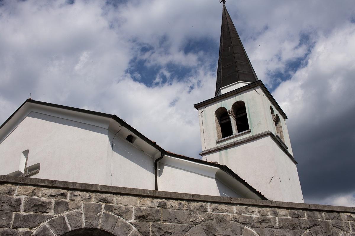 Denkmal erster Weltkreig Kobarid Slowenien Sacrario dei Caduti di Caporetto