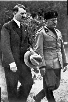 Adolf Hitler and Benito Mussolini, 1934