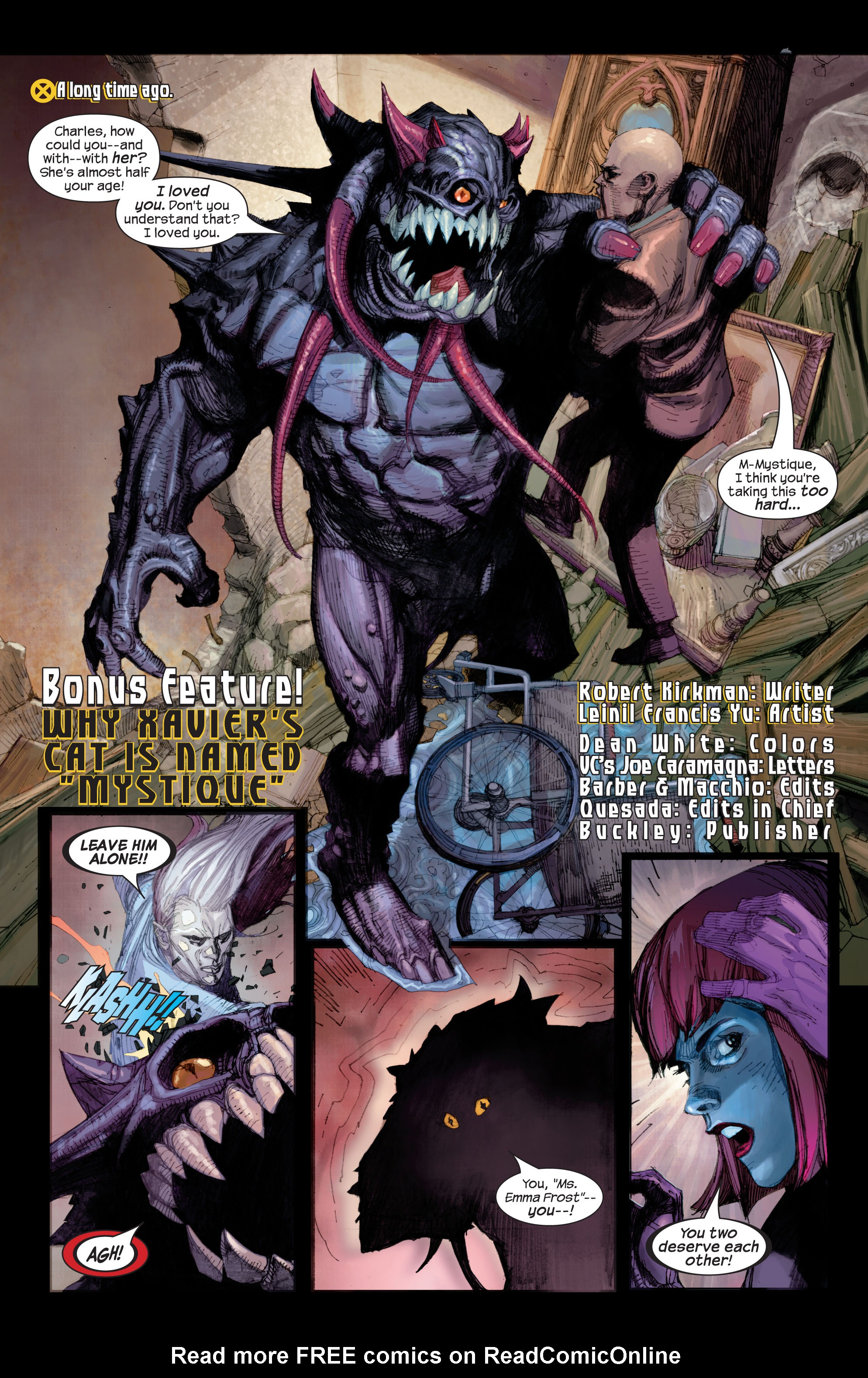 Read online Ultimate X-Men comic -  Issue # _Annual 2 - 36