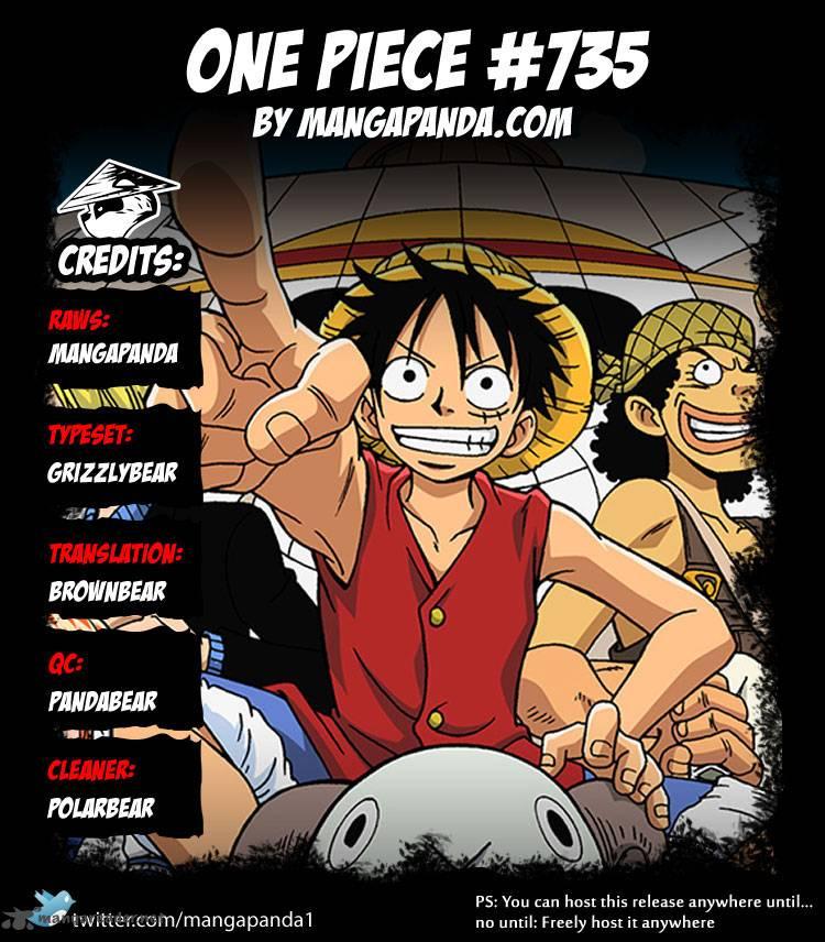 One Piece Ch 735: Fujitoras Objective