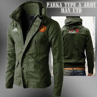 Jaket Parka Army