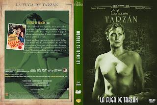 Carátula dvd: La fuga de Tazán