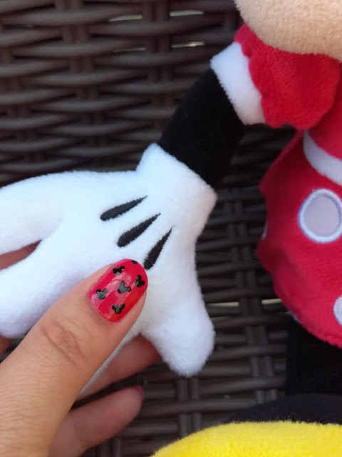Tuto Nailart Facile Disney Minnie Mouse Mickey Mouse