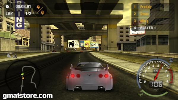 Download NFS MW PSP High Compress
