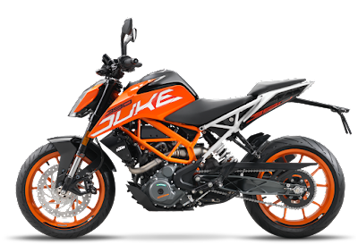 2017 KTM Duke 390 side Profile picture
