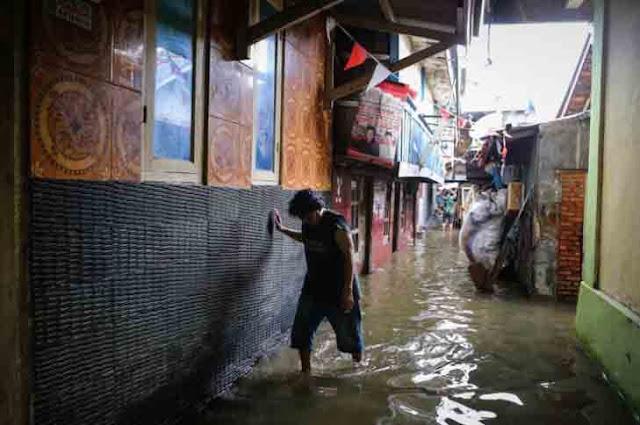Baru Setahun, Tanggul di Kampung Luar Batang Bocor karena Paku